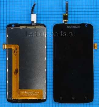 Дисплей для Lenovo S820, экран с тачскрином
