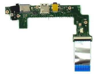 Плата с usb и аудио разъемами для ноутбука Asus Eee pc X101ch