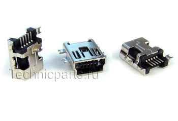 Разъем mini usb для электронной книги Texet TB-807A