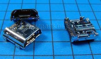 Разъем micro usb Samsung Galaxy Mega 6.3 GT-I9200 I9205