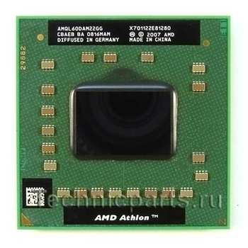 Процессор AMD Athlon X2 QL-60 1.9 ГГц AMQL60DAM22GG