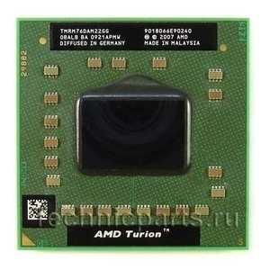 Процессор AMD Turion X2 RM-76 2.3 ГГц TMRM76TAM22GG