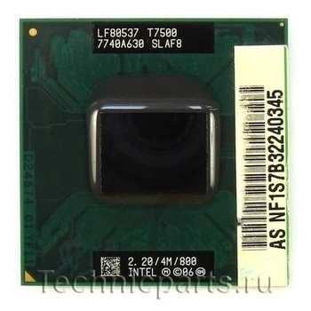 Процессор Intel Core 2 Duo T7500 2.2 Ггц