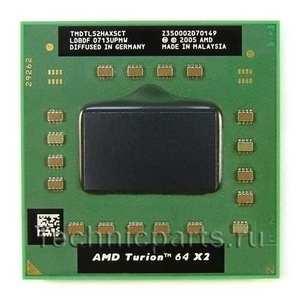 Процессор AMD Turion 64 X2 TL-52 1.6 Мгц TMDTL52HAX5CT