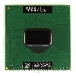 Процессор Intel Pentium M 740 1.73 Ггц 740 SL7SA