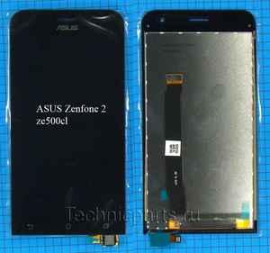 Дисплей с тачскрином (модуль) Asus Zenfone 2