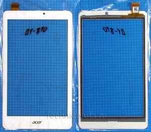 Тачскрин для планшета Acer Iconia One B1-810