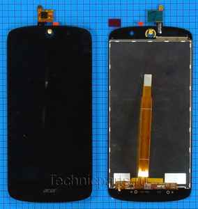 Дисплей с тачскрином для Acer Liquid Z530