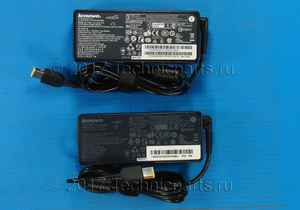 Блок питания для ноутбука Lenovo IdeaPad S410p прямоугольный штекер