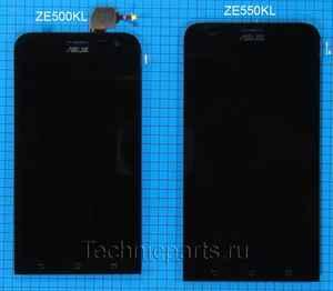 Дисплей для Asus Zenfone 2 Laser, экран с тачскрином