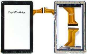Тачскрин для китайского планшета Samsung N8000 N9000
