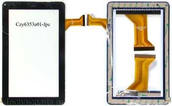 Тачскрин Samsung N8000 N9000