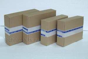Коробка картонная четырехклапанная для упаковки