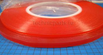 Скотч красный 50 метров для ремонта телефонов планшетов