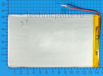 Аккумулятор 3x145x80мм 3.7V 4700mAh: купить по выгодной цене с доставкой в интернет-магазине запчастей Техникпартс.