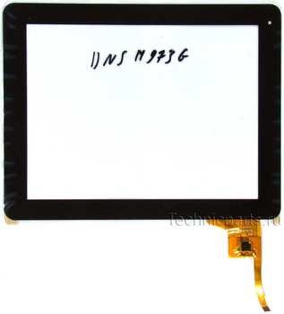 Тачскрин для планшета Dns m973g