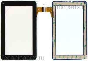 Тачскрин для планшета Dns e76