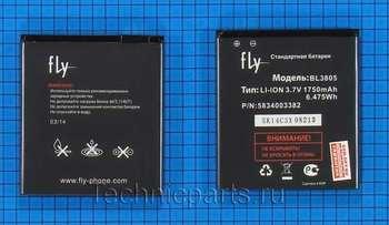 Аккумулятор для телефона Fly IQ4404 Spark