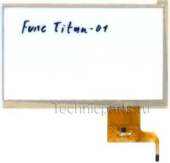 Тачскрин для планшета Func Titan-01