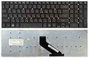 Клавиатура для ноутбука Gateway NV57H