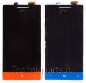 Тачскрин с дисплеем для HTC Windows Phone 8s