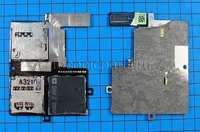 Разъем sim и flash карты с шлейфом для HTC Desire 600