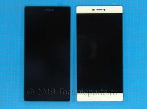 Дисплей для Huawei Ascend P8, экран с тачскрином