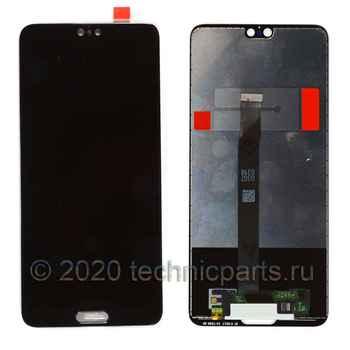 Дисплей для Huawei P20 (EML-L29),  экран с тачскрином