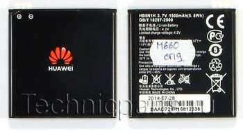 Аккумулятор для телефона Huawei M660