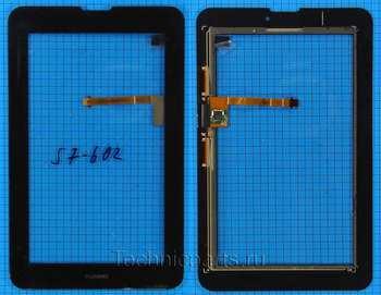 Тачскрин Huawei MediaPad 7 Vogue S7-601 S7-602