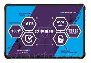 Тачскрин Irbis TZ151