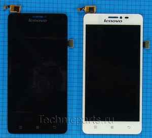 Дисплей для Lenovo S850, экран с тачскрином
