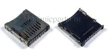 Разъем карты памяти для фотоаппарата Nikon D90