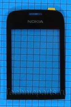Сенсор (тачскрин) для телефона Nokia Asha 202