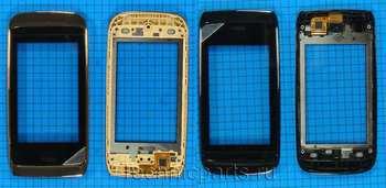 Сенсор (тачскрин) для телефона Nokia Asha 308
