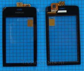 Сенсор (тачскрин) для телефона Nokia Asha 309