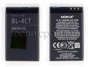 Аккумулятор для телефона Nokia 2720