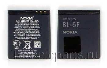 Аккумулятор BL-6F Nokia