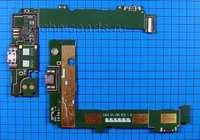 Разъем micro usb с платой для Nokia Lumia 535 Dual Sim