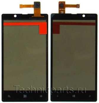 Тачскрин для телефона Nokia Lumia 820