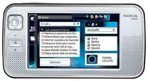 Тачскрин для планшета Nokia N800