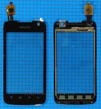 Тачскрин для телефона Philips Xenium W6350