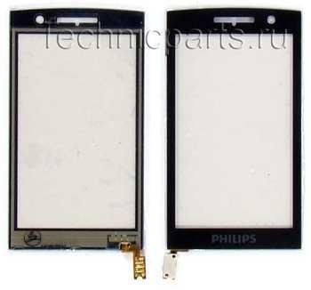 Сенсор (тачскрин) для телефона Philips Xenium X713