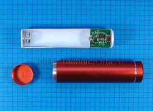 Металлический корпус для внешнего аккумулятора Power Bank