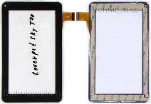 Тачскрин для планшета Roverpad Sky T70