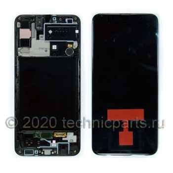 Дисплей для Samsung A30s / A307FN/DS, экран с тачскрином