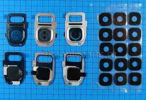 Корпус и стекло камеры для Samsung G930 SM-G935F Galaxy S7 Edge