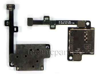 Разъем sim карты для планшета Samsung N5100 N5120