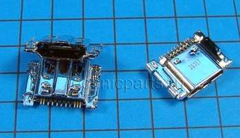 Разъем micro usb для Samsung GT-I9300 Galaxy S3 Duos