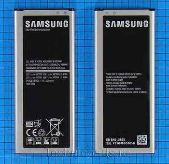 Аккумулятор для телефона Samsung Galaxy Note 4 N9100